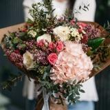 Fleurs à Lisbonne - Ramo de Hortense e Rosas de Santa Teresinha 5 Thumb