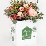 Fleurs à Lisbonne - Ramo de Hortense e Rosas de Santa Teresinha 1 Thumb