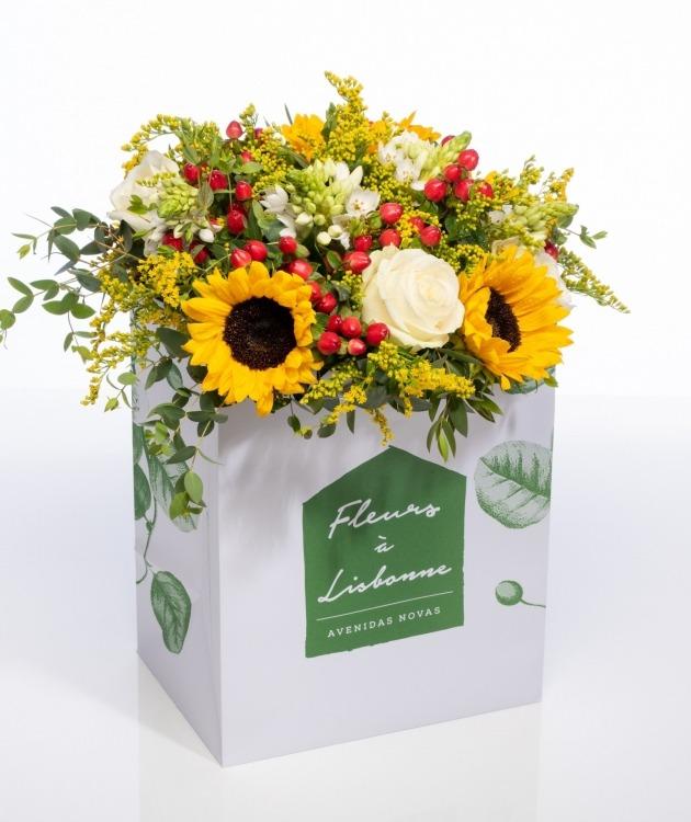 Fleurs à Lisbonne - Ramo de girassóis 1