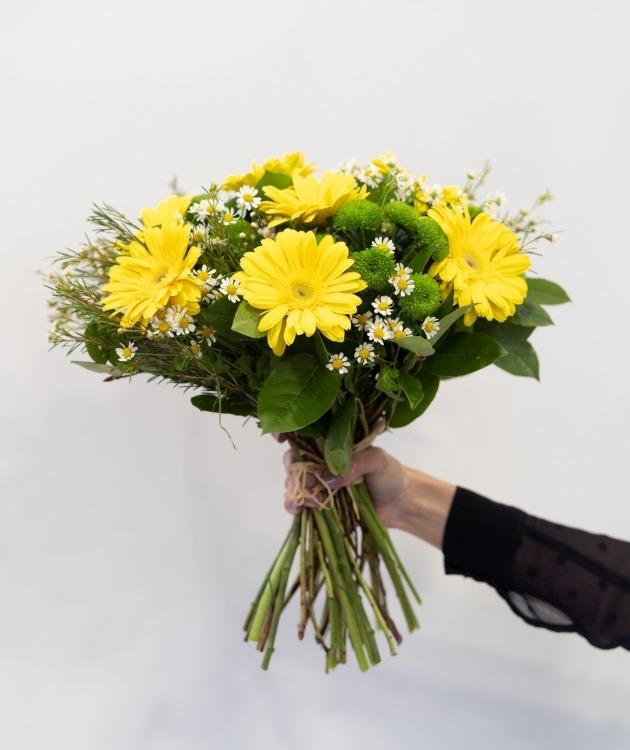 Fleurs à Lisbonne - Ramo de Gerberas Amarelas 3