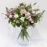 Fleurs à Lisbonne - Ramo de Lisianthus cor de Rosa e Brancos 2 Thumb