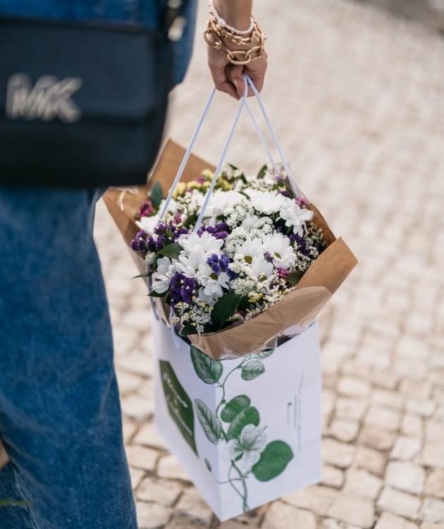 Fleurs à Lisbonne - Ramo de Margaridas Campestre 10