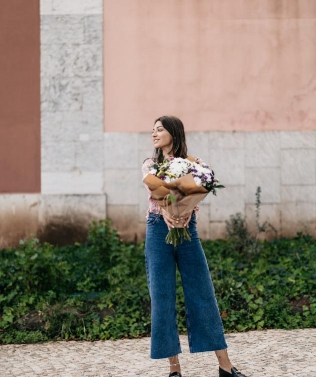 Fleurs à Lisbonne - Ramo de Margaridas Campestre 11