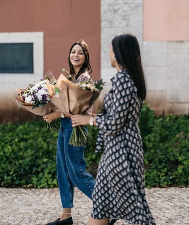 Fleurs à Lisbonne - Ramo de Margaridas Campestre 9