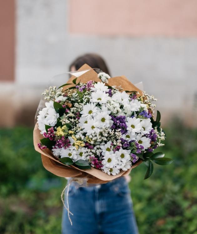 Fleurs à Lisbonne - Ramo de Margaridas Campestre 14