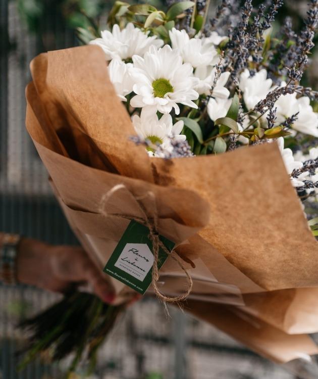 Fleurs à Lisbonne - Ramo de Margaridas e Lavanda 7