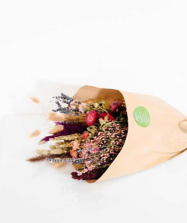 Fleurs à Lisbonne - Ramo de Flores Secas Cor de Rosa 1