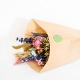 Fleurs à Lisbonne - Ramo de Flores Secas Cor de Rosa e Azul 1 Thumb
