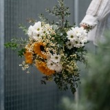 Fleurs à Lisbonne - Ramo de Girassóis e Margaridas Brancas 3 Thumb