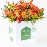 Fleurs à Lisbonne - Ramo de Flores em Tons Quentes 1 Thumb