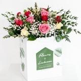 Fleurs à Lisbonne - Ramo Mix de Rosas Cor de Rosa 1 Thumb