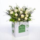 Fleurs à Lisbonne - Ramo de flores campestre de Rosas Brancas 1 Thumb