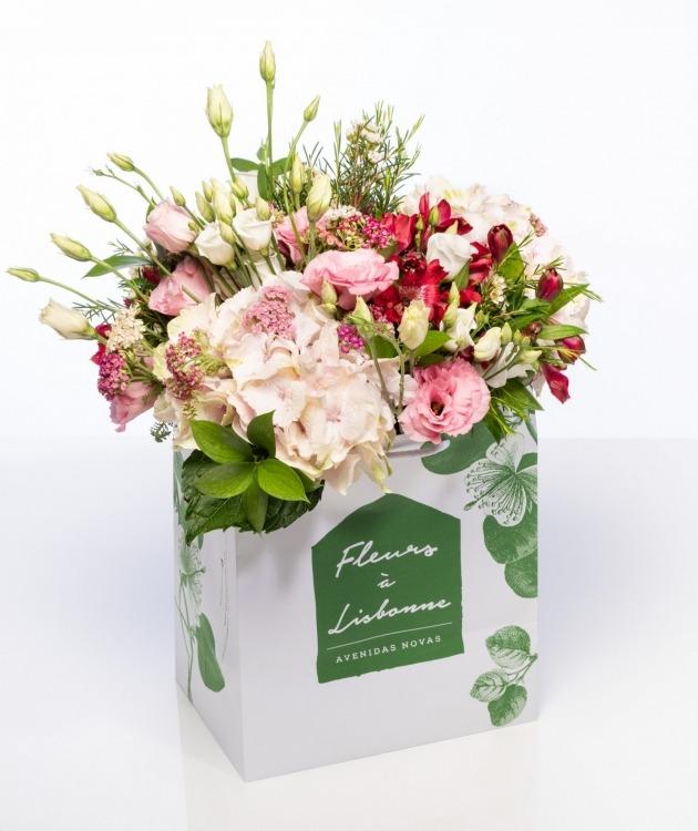Fleurs à Lisbonne - Ramo de Hortenses Premium 1