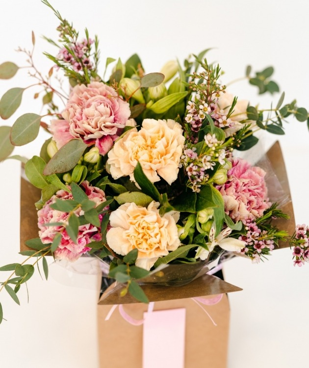 Fleurs à Lisbonne - Caixa de Cravos Campestre 2