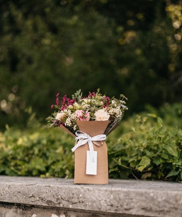 Fleurs à Lisbonne - Caixa de Cravos Campestre 3