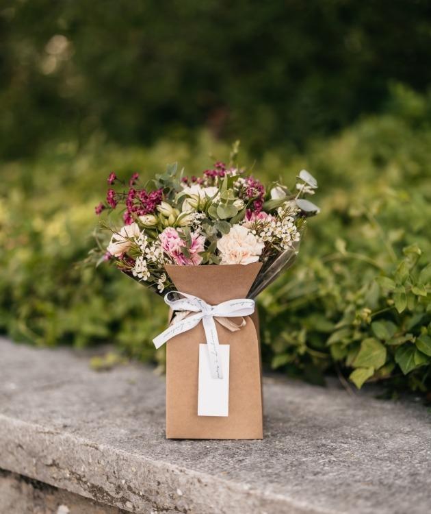 Fleurs à Lisbonne - Caixa de Cravos Campestre 5