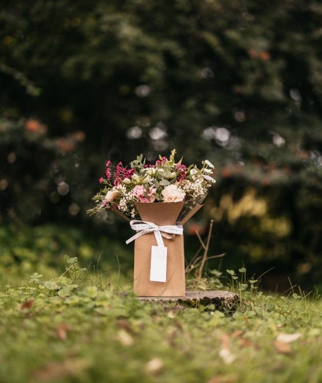 Fleurs à Lisbonne - Caixa de Cravos Campestre 6