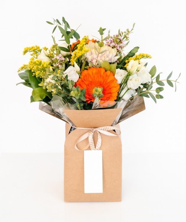 Fleurs à Lisbonne - Caixa de Flores Multicolor 1