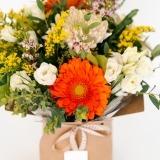Fleurs à Lisbonne - Caixa de Flores Multicolor 2 Thumb