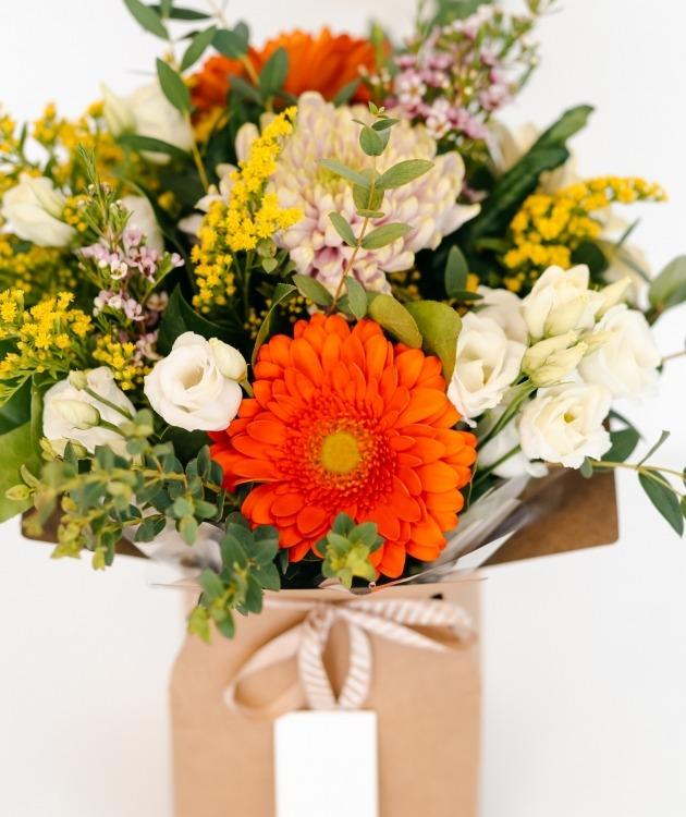 Fleurs à Lisbonne - Caixa de Flores Multicolor 2