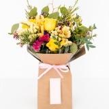 Fleurs à Lisbonne - Caixa de Rosas Amarelas Campestre 1 Thumb