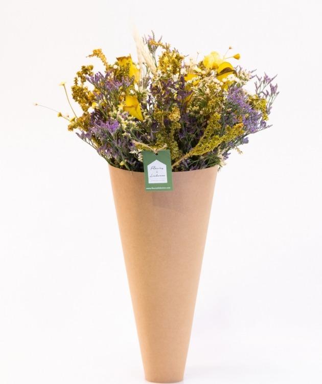 Fleurs à Lisbonne - Ramo de Flores Secas Amarelas 1
