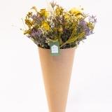 Fleurs à Lisbonne - Ramo de Flores Secas Amarelas 1 Thumb
