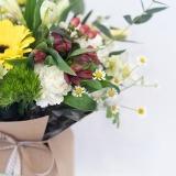 Fleurs à Lisbonne - Caixa de Flores Campestres Amarelas 4 Thumb