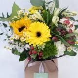 Fleurs à Lisbonne - Caixa de Flores Campestres Amarelas 3 Thumb