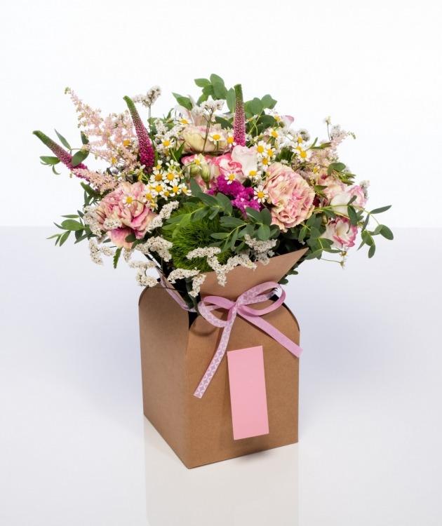 Fleurs à Lisbonne - Caixa de flores campestres 1