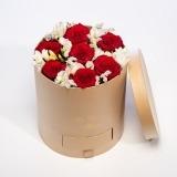 Fleurs à Lisbonne - Caixa de Rosas Vermelhas Grande 1 Thumb